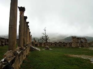 Les ruines romaines d'Algérie